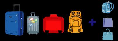 luggage storage cagliari